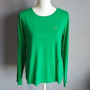 Lacoste Long Sleeve Tee Size 46